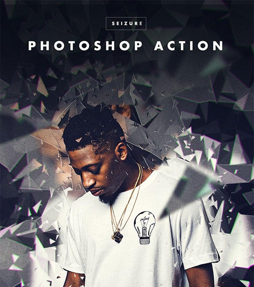 Seizure Photoshop Action