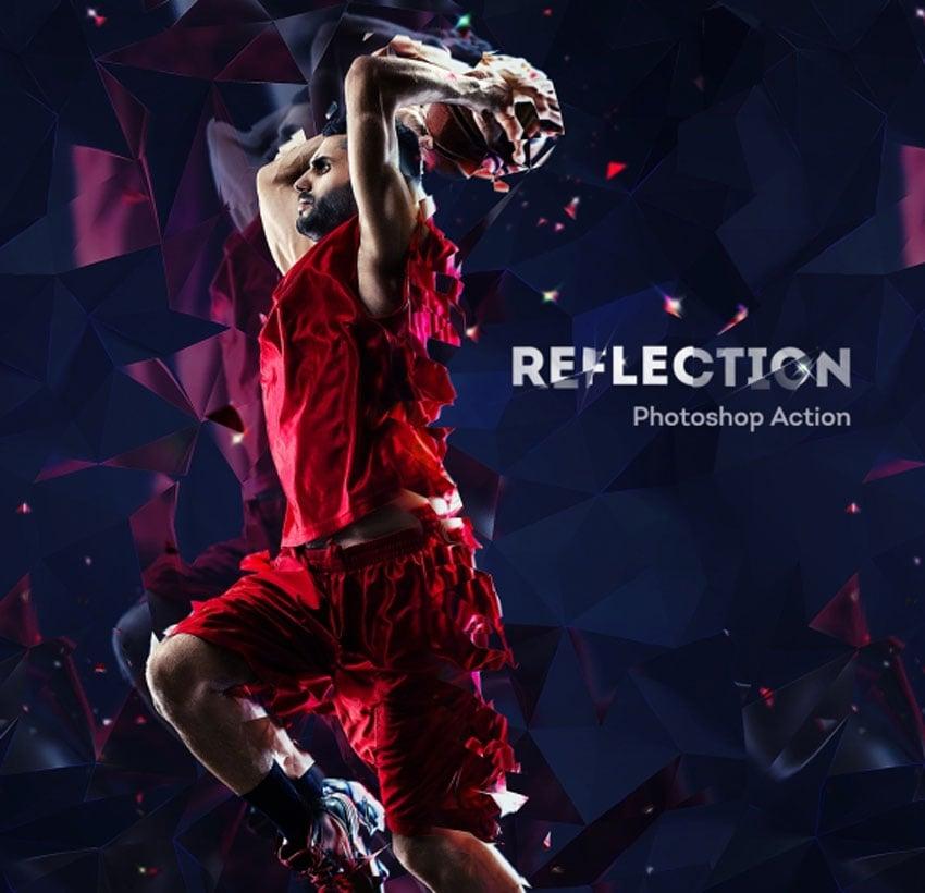 Reflection Photoshop Action