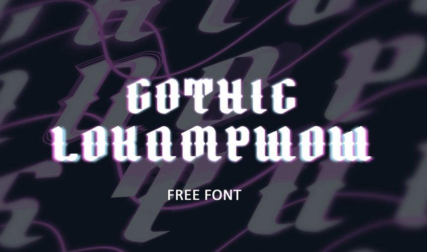 Gothic Font