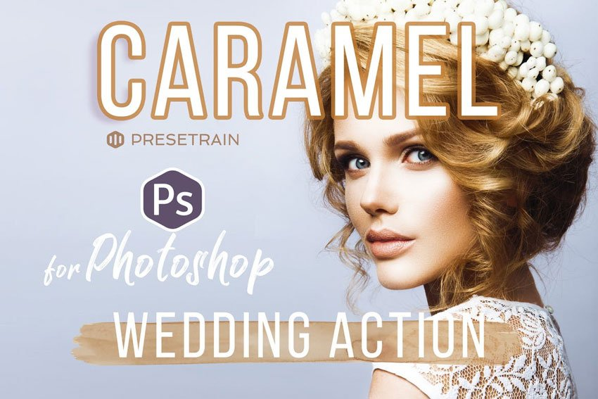 Caramel Wedding Photoshop Action