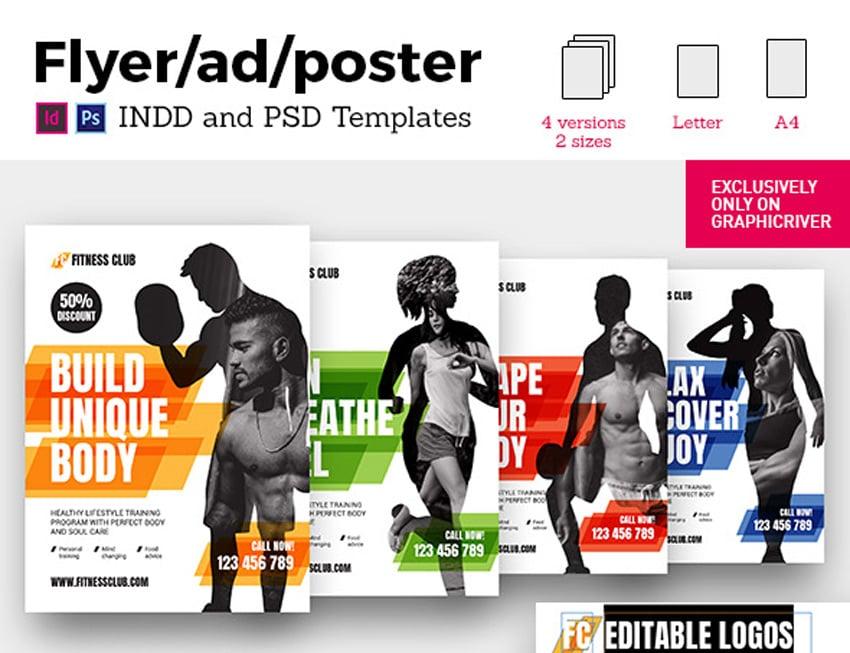 Fitness Universal Flyer