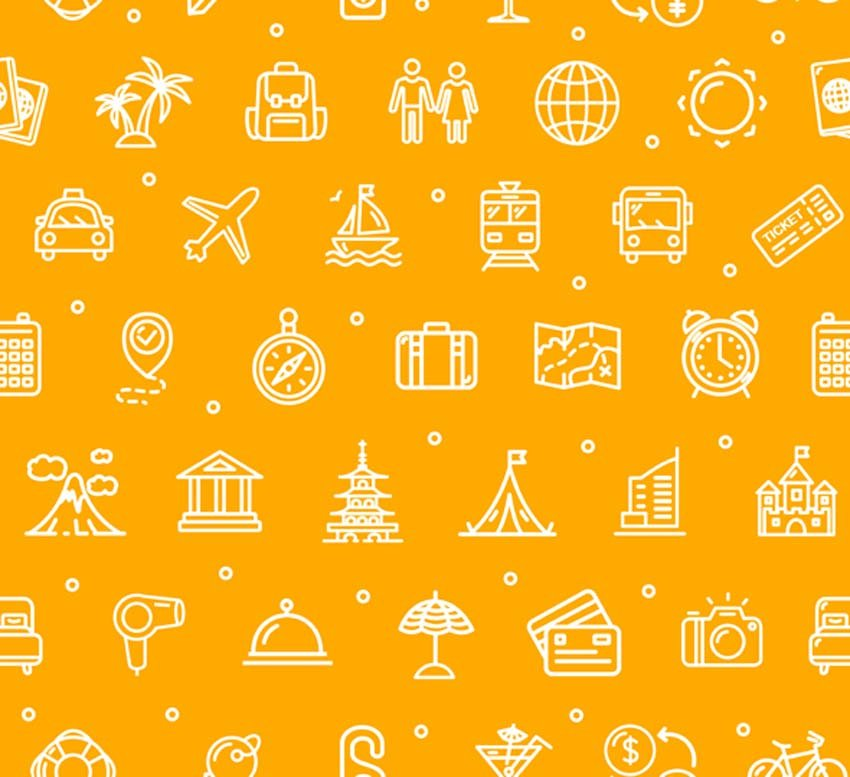 Travel and Tourism Background Pattern