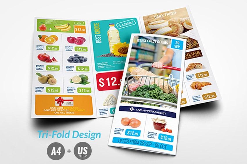 Supermarket Catalog Brochure Bundle