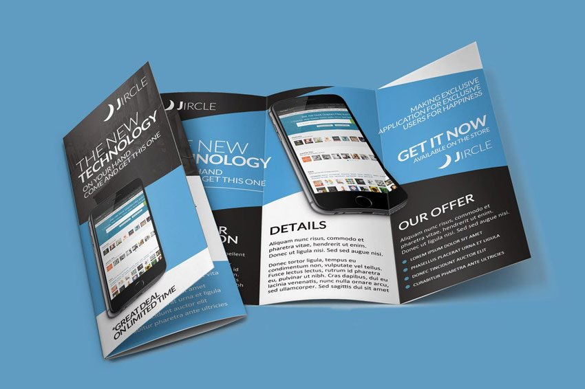 App Promo Trifold Brochure