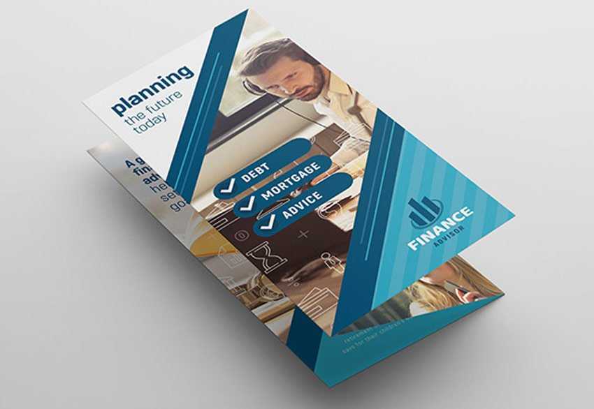 Financial Advisor Trifold Brochure