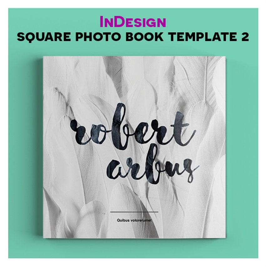 InDesign Square Book Template