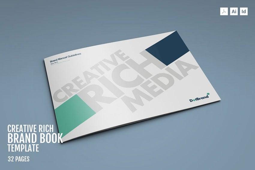 Creative Rich-Brand Book Template