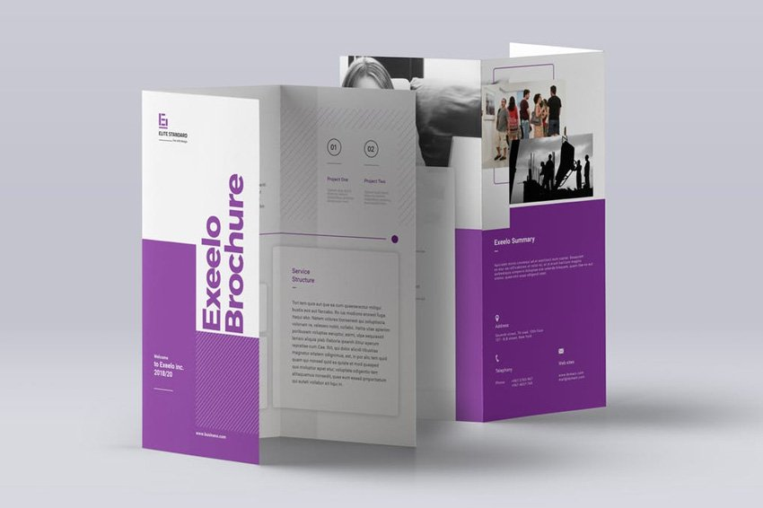 Exeelo Trifold Brochure