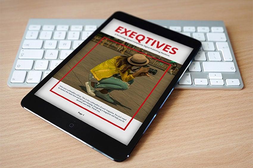 Digital Magazine Template