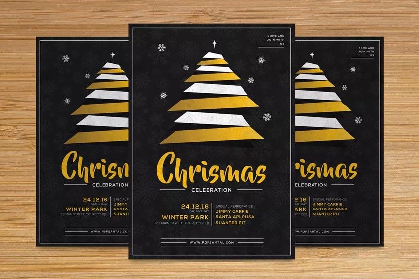 Christmas Church Flyer