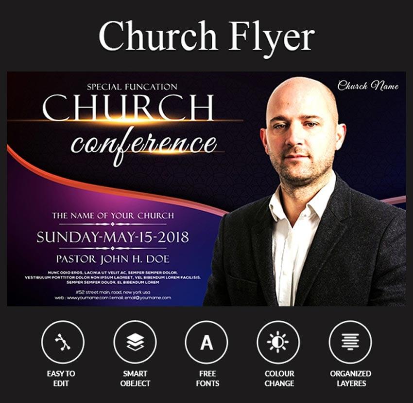 Church Flyer Template