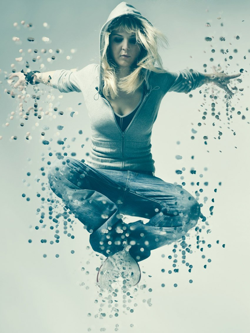 How to Create an Awesome Dispersion Action in Adobe Photoshop