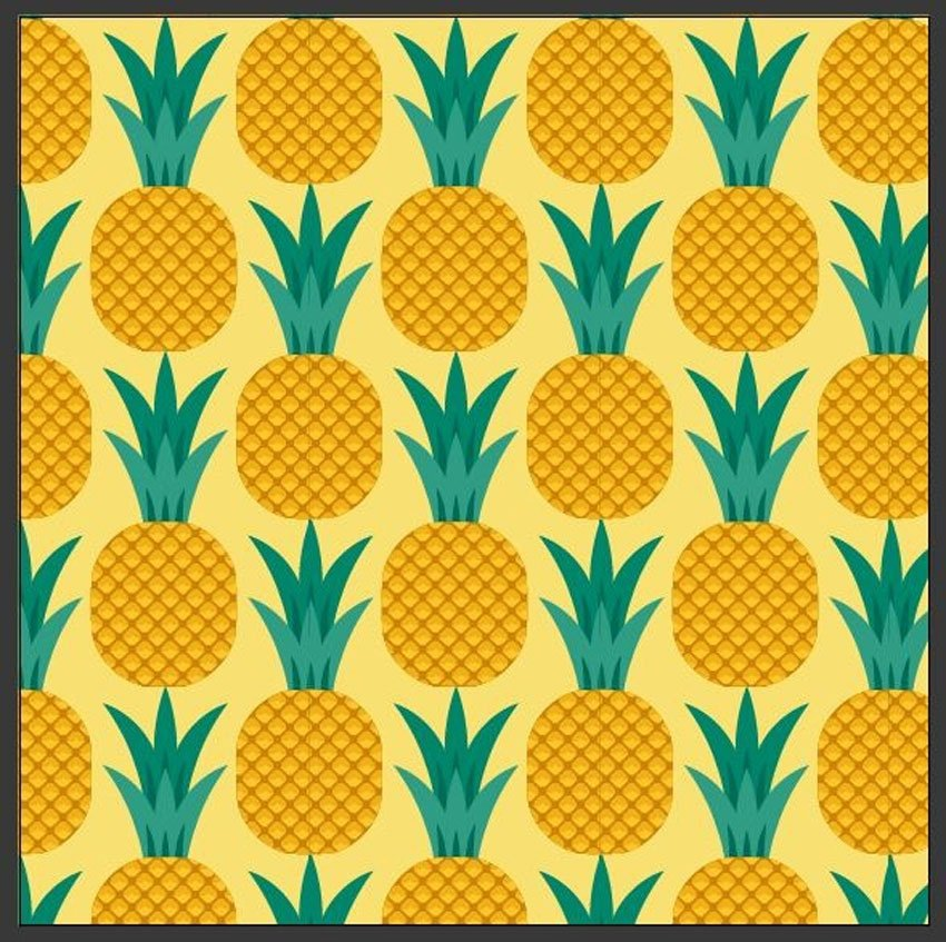 How to Create a Pineapple Seamless Pattern in Adobe Illustrator