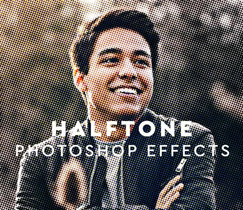 Halftone Photo Effect