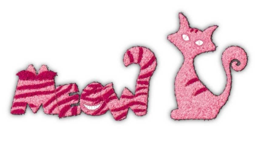 How to Create a Furry Cheshire Cat Inspired Text Effect in Adobe Illustrator
