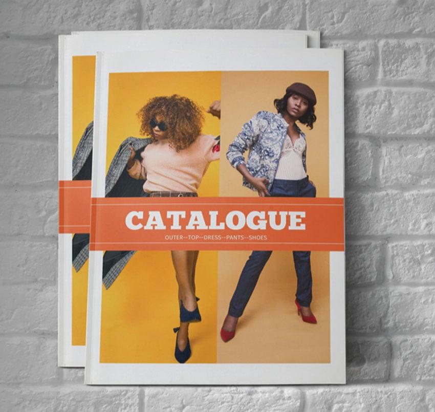 InDesign Catalog Templates