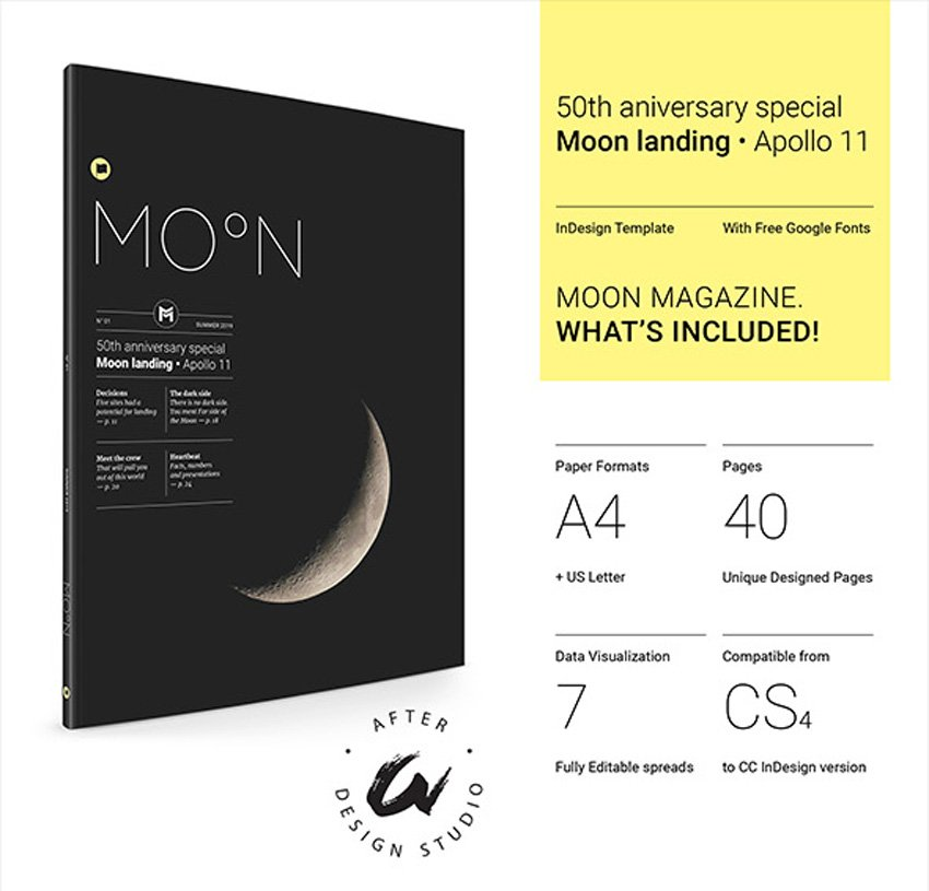 Moon - InDesign Templates