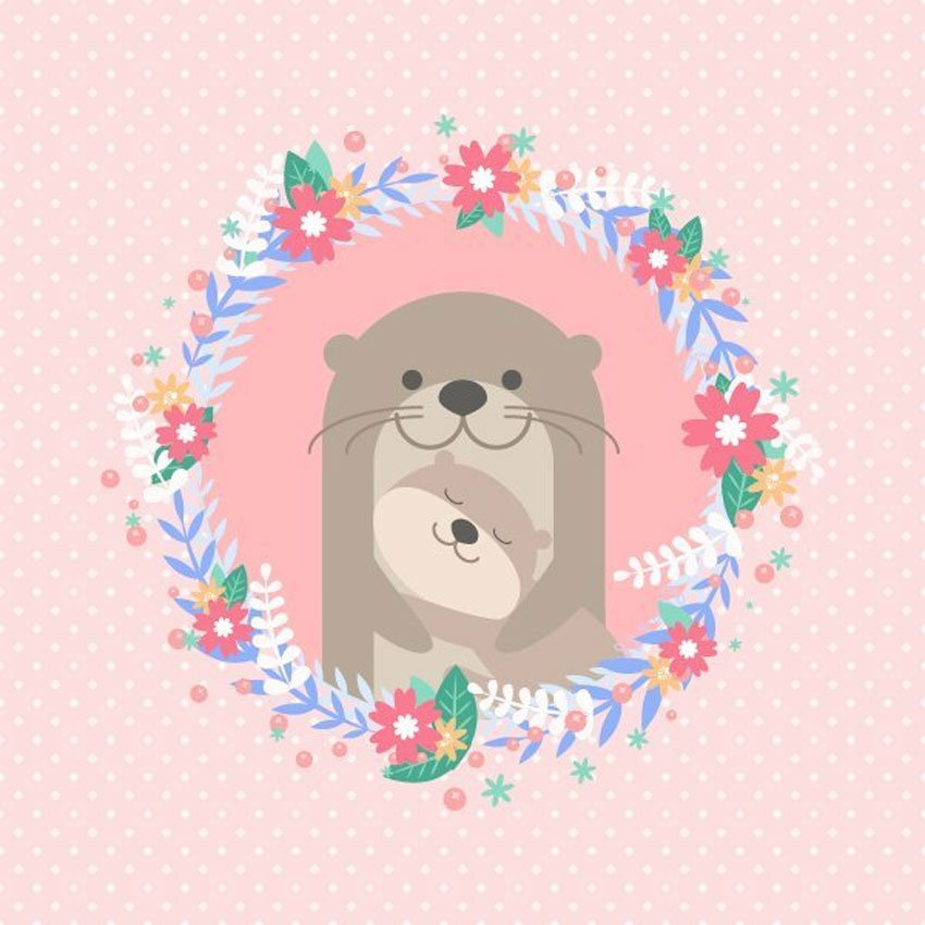 How to Design a Naw-Rz Floral Card in Adobe Illustrator