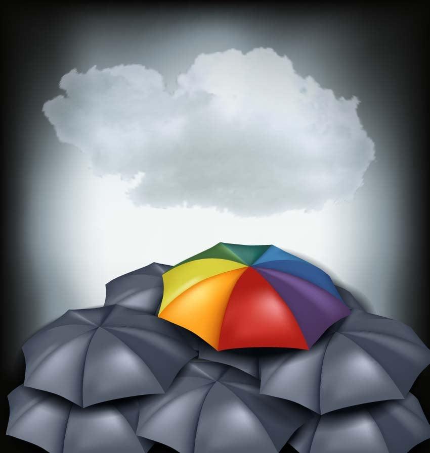 How to Create a Rainbow Umbrella in Adobe Illustrator