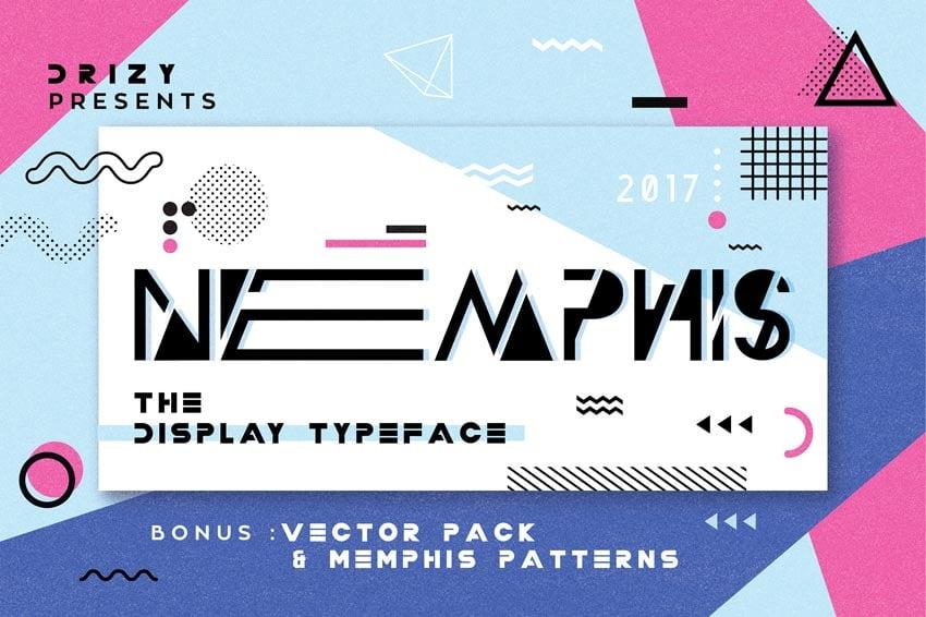Nemphis 80s Font