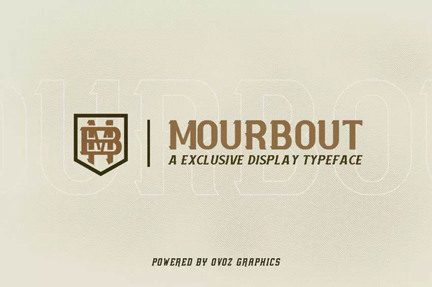 Mourbout - NFC Font Family