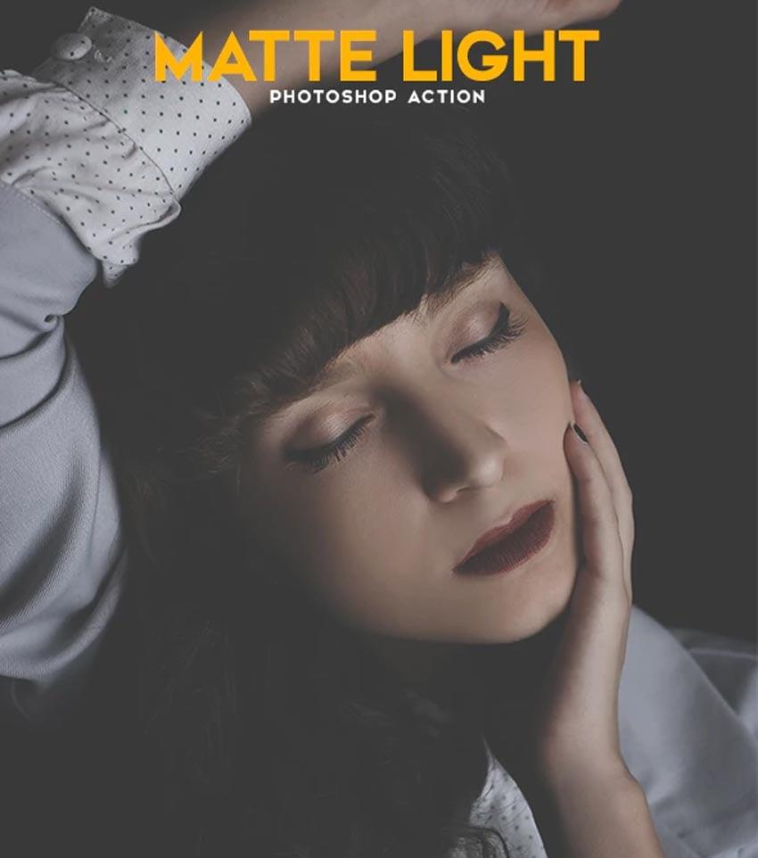 Matte Light Photoshop Action