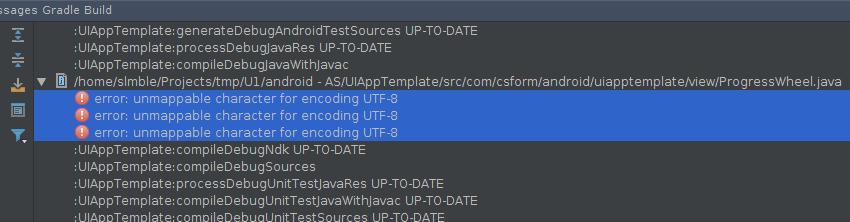 Character encoding errors