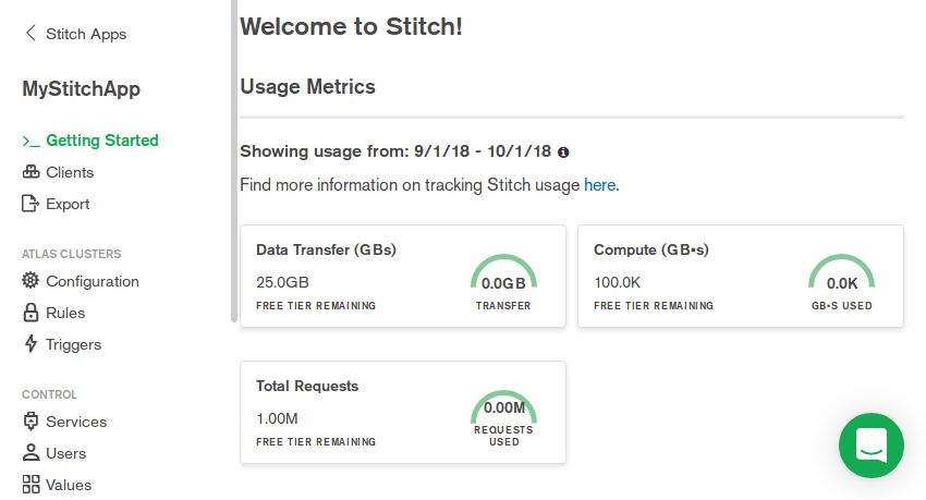 Stitch app overview