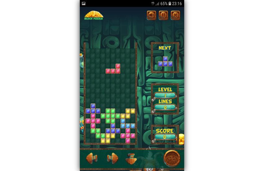 Block Puzzle gameplay