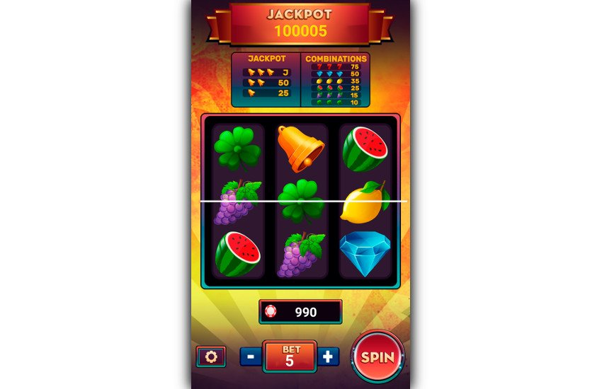 Slot Machine Deluxe gameplay