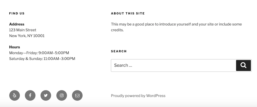 Sidebars dont have to be vertical bars that run alongside your webpages main content