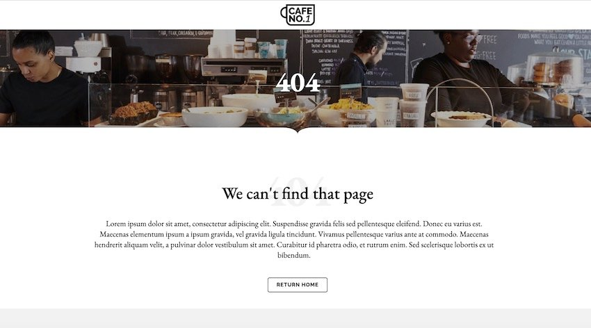 Cafe No1 is a hospitality-focused theme thats ideal for cafes and coffee shops