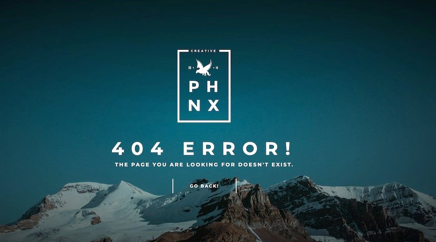 Phoenix is a bold template kit thats designed around a full-screen landscape photo