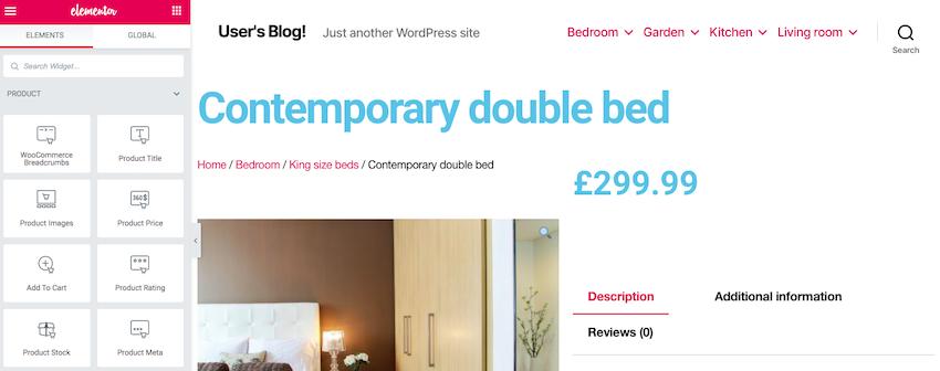 Help visitors navigate your ecommerce store using the WooCommerce breadcrumbs widget