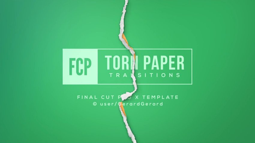 Torn Paper Transitions