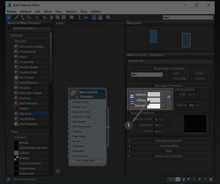 Image to show the diffuse options