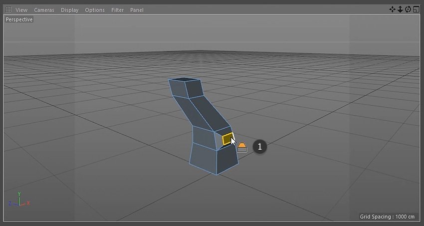 Using the bevel tool