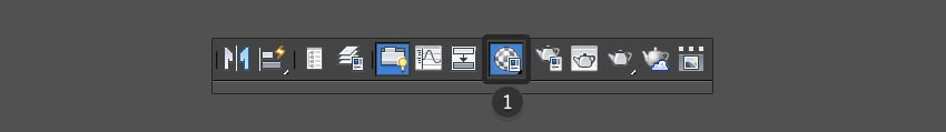 Select the Material Editor