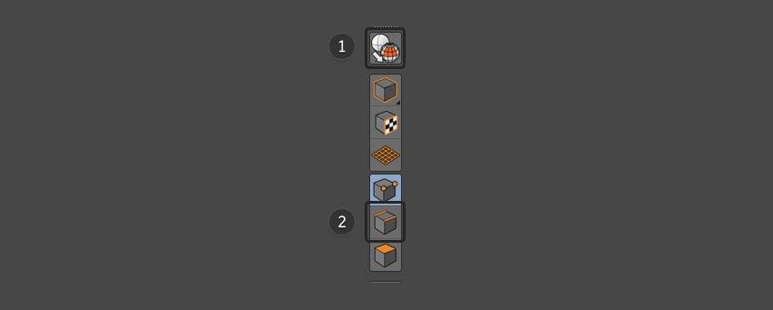 Select Make Editable and Edge Selection buttons