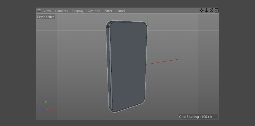 3D body of the iPhone
