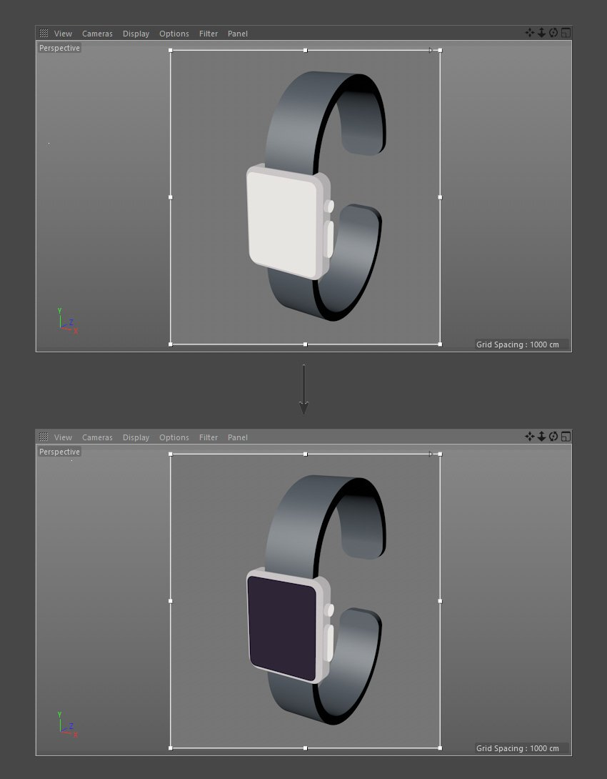 Color the Smartwatch screen