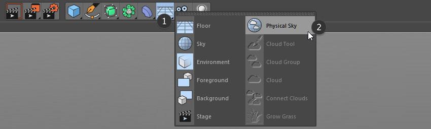 Choose Physical Sky