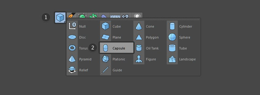 Create a Capsule object