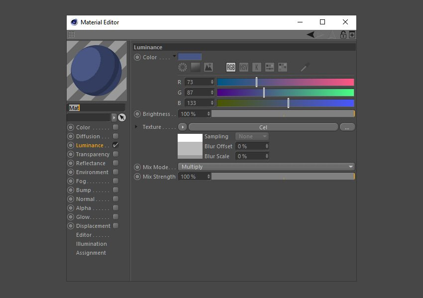 Create a darker material colour