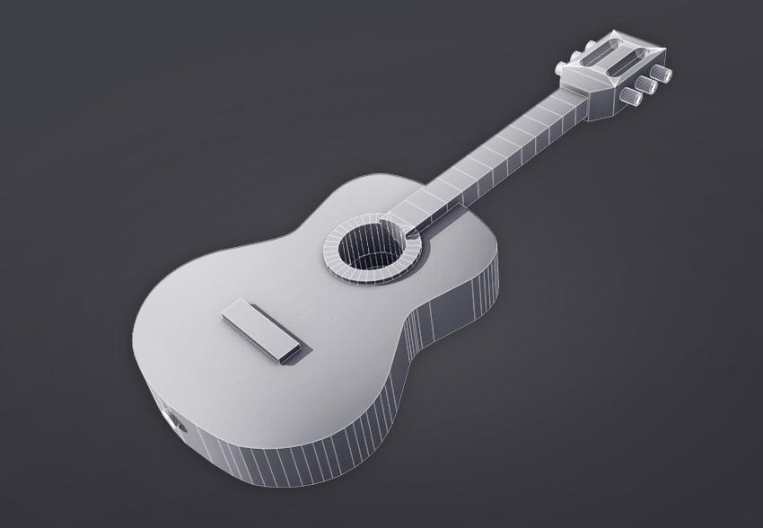 Final guitar model