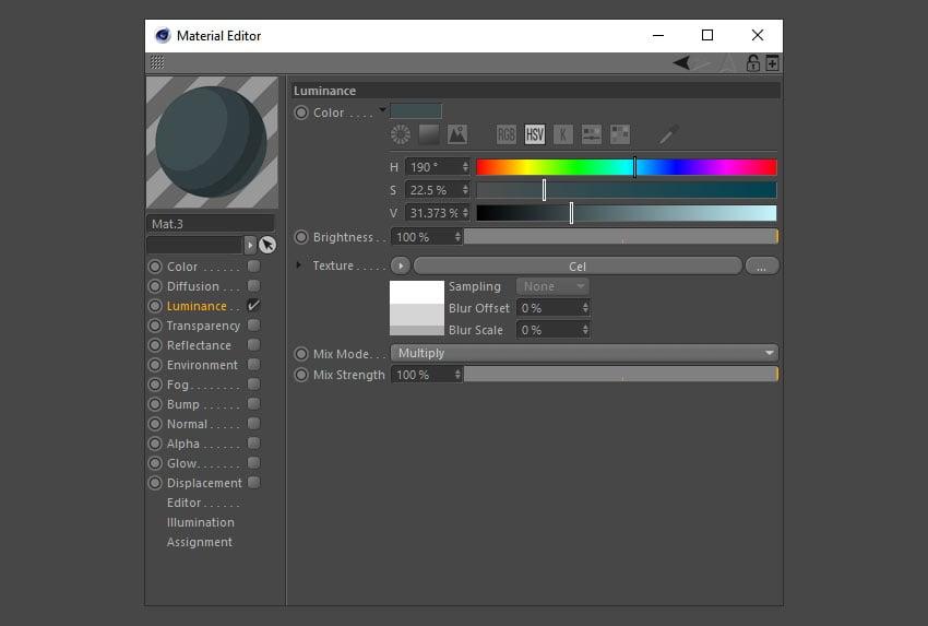 Make new dark grey material