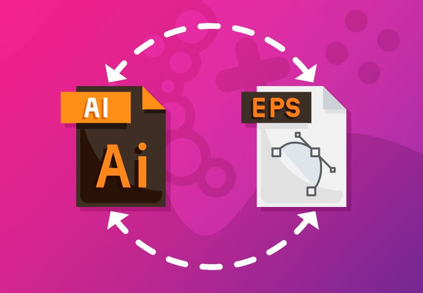 Convert AI and EPS files