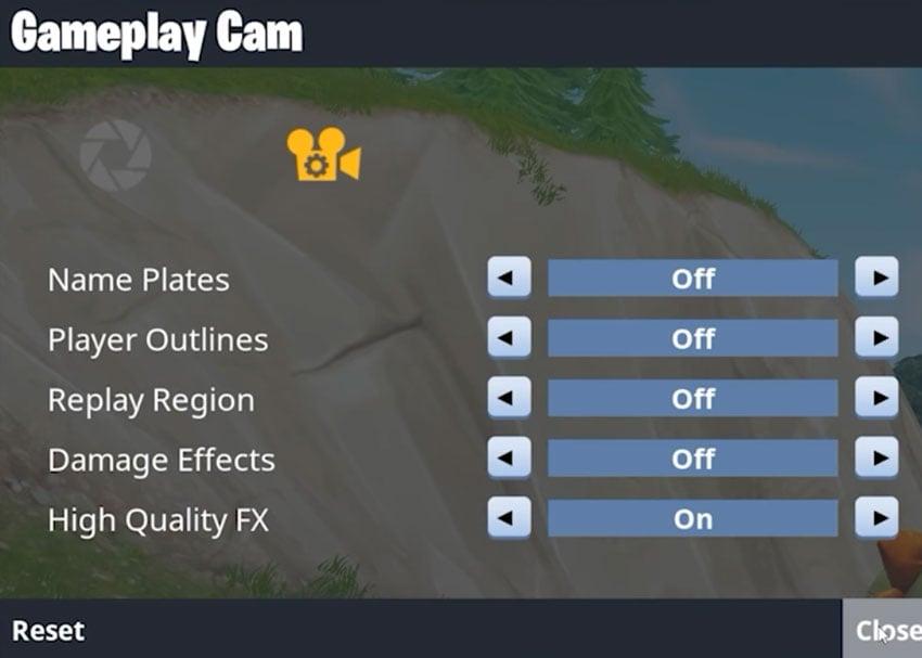 gameplay cam