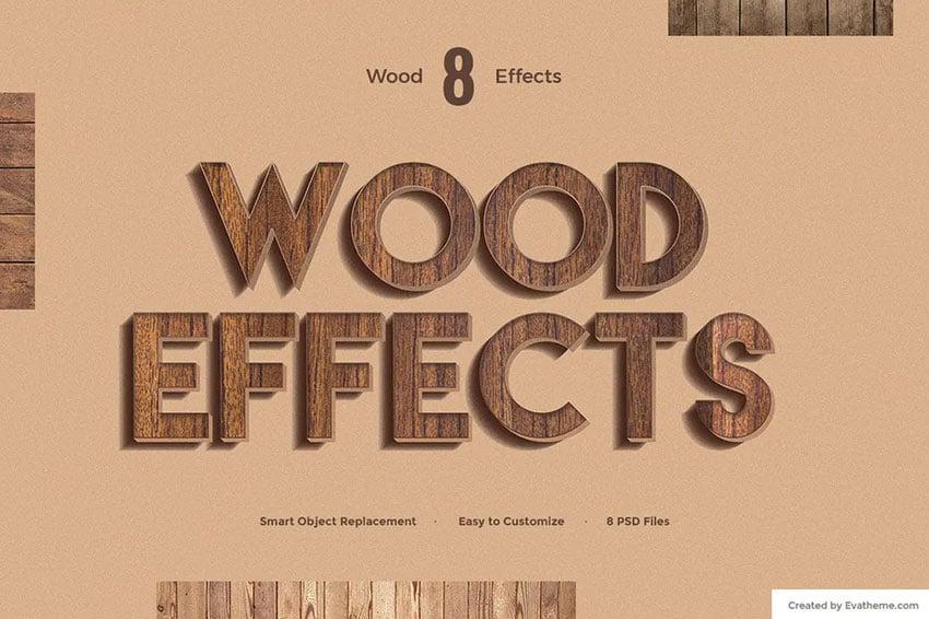 wood effects