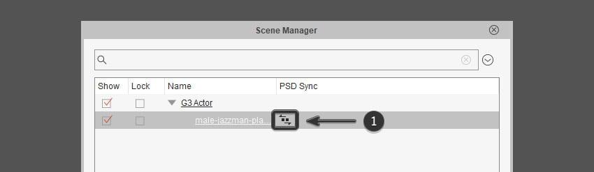 PSD sync